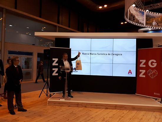 Presentación de la nueva marca de Zaragoza Turismo en Fitur 2019