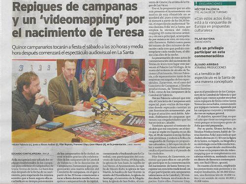 Zaraevent en el Diario de Ávila