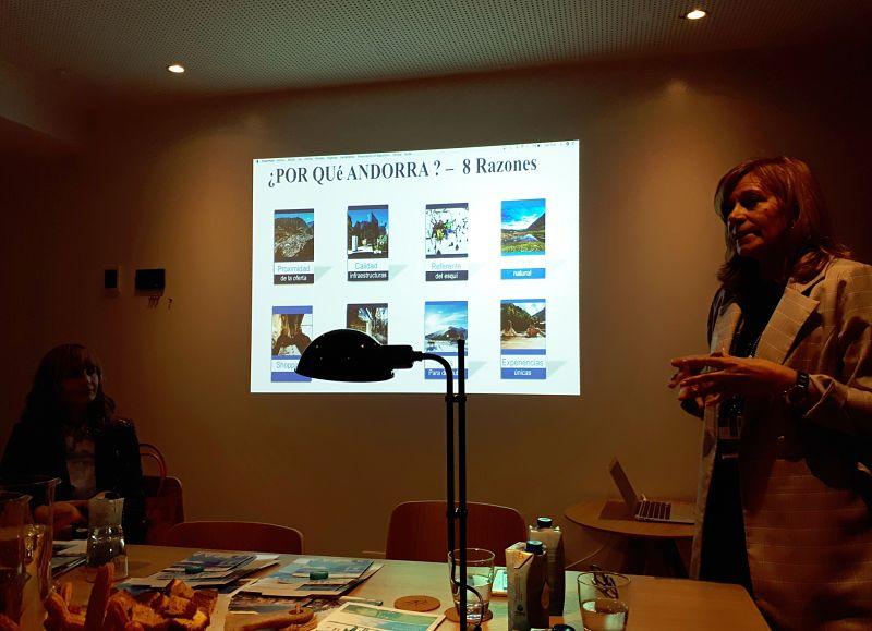 Desayuno de trabajo con Andorra Convention Bureau